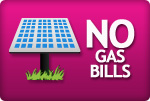 no gas bills